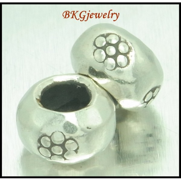 10x Hill Tribe Silver Spacer Beads Wholesale Jewelry