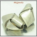 5x Wholesale Weave Hill Tribe Silver Jewelry Supplies Beads [KB082]
