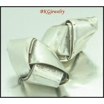 5x Weave Jewelry Findings Beads Wholesale Hill Tribe Silver [KB071]