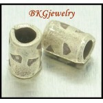 10x Wholesale Jewelry Supplies Hill Tribe Silver Tube Beads [KB035]