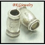10x Hill Tribe Silver Tube Beads Jewelry Findings Wholesale [KB049]