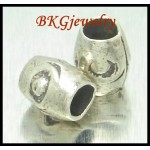 10x Wholesale Tube Beads Hill Tribe Silver Jewelry Supplies [KB093]
