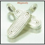 5x Wholesale Karen Hill Tribe Silver Charms Jewelry Supplies [KC052]