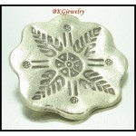 1x Jewelry Findings Karen Hill Tribe Silver Engrave Pendant [KC032]