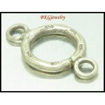 5x Karen Hill Tribe Silver Couple Loop Wholesale Jewelry Supplies [KH189]