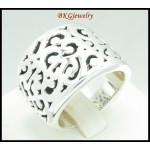 Sterling Silver Antique Ring Fashion Electroforming [MR070]