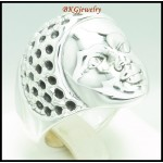 Baby Face Ring Electroforming 925 Sterling Silver Wholesale [MR079]
