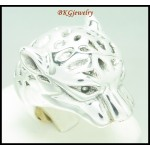 Band Tiger Ring 925 Sterling Silver Wholesale Electroforming [MR087]